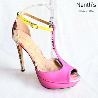 Zapatos de Mujer MC-Herminia Fuchsia Women Shoes Nantlis Mayoreo Wholesale
