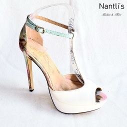 Zapatos de Mujer MC-Herminia White Women Shoes Nantlis Mayoreo Wholesale