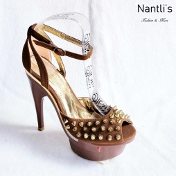 Zapatos de Mujer MC-Huana Brown Women Shoes Nantlis Mayoreo Wholesale