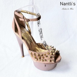 Zapatos de Mujer MC-Huana Taupe Women Shoes Nantlis Mayoreo Wholesale