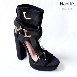 Zapatos de Mujer MC-Kendra Black Women Shoes Nantlis Mayoreo Wholesale
