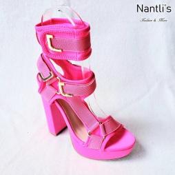 Zapatos de Mujer MC-Kendra Fuchsia-Neon Women Shoes Nantlis Mayoreo Wholesale