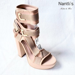 Zapatos de Mujer MC-Kendra Nude Women Shoes Nantlis Mayoreo Wholesale