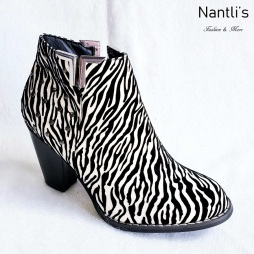 Zapatos de Mujer MC-Lucretia Zebra Women Shoes Nantlis Mayoreo Wholesale