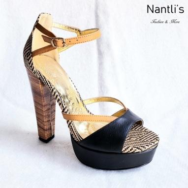 Zapatos de Mujer MC-Mayo Black Women Shoes Nantlis Mayoreo Wholesale