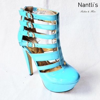 Zapatos de Mujer MC-Miriam Blue-Patent Women Shoes Nantlis Mayoreo Wholesale