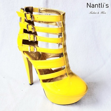 Zapatos de Mujer MC-Miriam Yellow-Patent Women Shoes Nantlis Mayoreo Wholesale