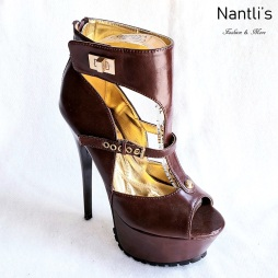 Zapatos de Mujer MC-Nostalgica Brown Women Shoes Nantlis Mayoreo Wholesale