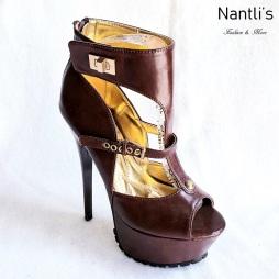 Zapatos de Mujer MC-Nostalgica Brown Women Shoes Nantlis Mayoreo Wholesale