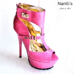 Zapatos de Mujer MC-Nostalgica Fuchsia Women Shoes Nantlis Mayoreo Wholesale