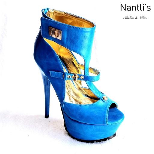 Zapatos de Mujer MC-Nostalgica Turquoise Women Shoes Nantlis Mayoreo Wholesale