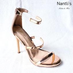 Zapatos de Mujer MC-Olivia Gold Women Shoes Nantlis Mayoreo Wholesale