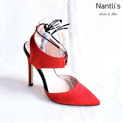 Zapatos de Mujer MC-Perla Red Women Shoes Nantlis Mayoreo Wholesale