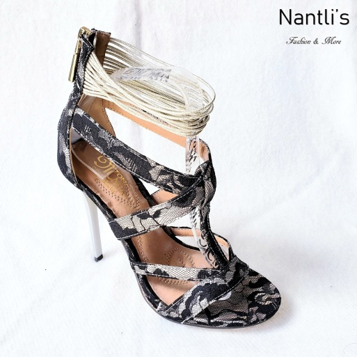 Zapatos de Mujer MC-Princesa Black Women Shoes Nantlis Mayoreo Wholesale