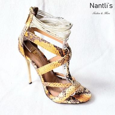 Zapatos de Mujer MC-Princesa Orange Women Shoes Nantlis Mayoreo Wholesale
