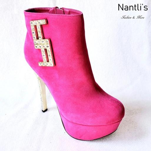 Zapatos de Mujer MC-RE13-M18 Hot Pink Women Shoes Nantlis Mayoreo Wholesale