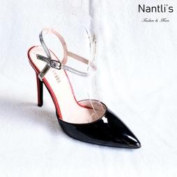 Zapatos de Mujer MC-Ricky-10 Black Women Shoes Nantlis Mayoreo Wholesale