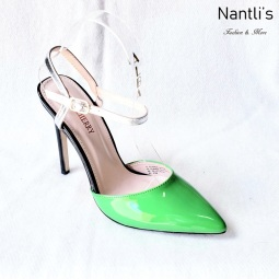 Zapatos de Mujer MC-Ricky-10 Green Women Shoes Nantlis Mayoreo Wholesale