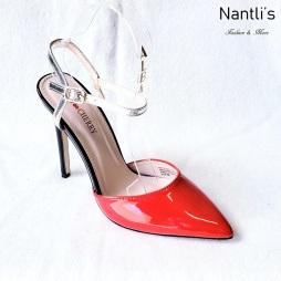 Zapatos de Mujer MC-Ricky-10 Red Women Shoes Nantlis Mayoreo Wholesale