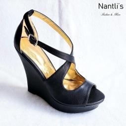 Zapatos de Mujer MC-Senaida Black Women Shoes Nantlis Mayoreo Wholesale