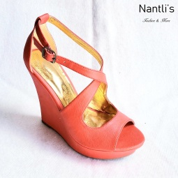 Zapatos de Mujer MC-Senaida Orange Women Shoes Nantlis Mayoreo Wholesale