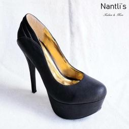 Zapatos de Mujer MC-Sierra Black Women Shoes Nantlis Mayoreo Wholesale