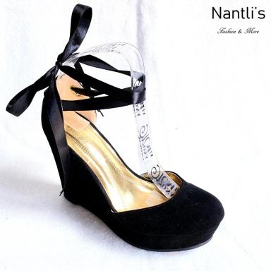 Zapatos de Mujer MC-Socorrito Black Women Shoes Nantlis Mayoreo Wholesale