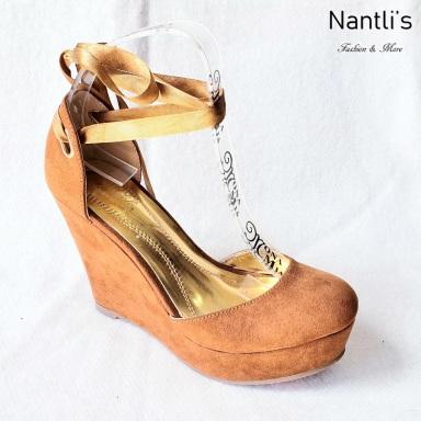 Zapatos de Mujer MC-Socorrito Tan Women Shoes Nantlis Mayoreo Wholesale