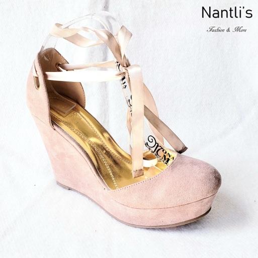 Zapatos de Mujer MC-Socorrito Taupe Women Shoes Nantlis Mayoreo Wholesale