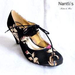Zapatos de Mujer MC-Toclosia Black Women Shoes Nantlis Mayoreo Wholesale