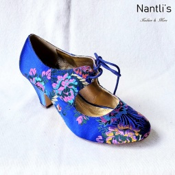 Zapatos de Mujer MC-Toclosia Blue Women Shoes Nantlis Mayoreo Wholesale