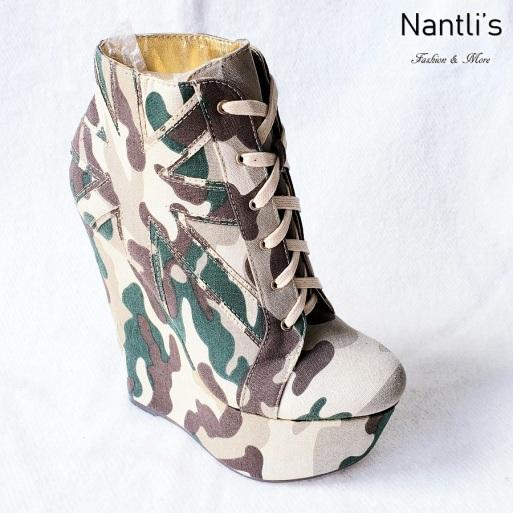 Zapatos de Mujer MC-Trigresa Green Women Shoes Nantlis Mayoreo Wholesale