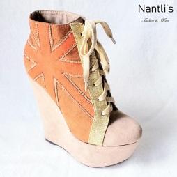 Zapatos de Mujer MC-Trigresa Orange Women Shoes Nantlis Mayoreo Wholesale