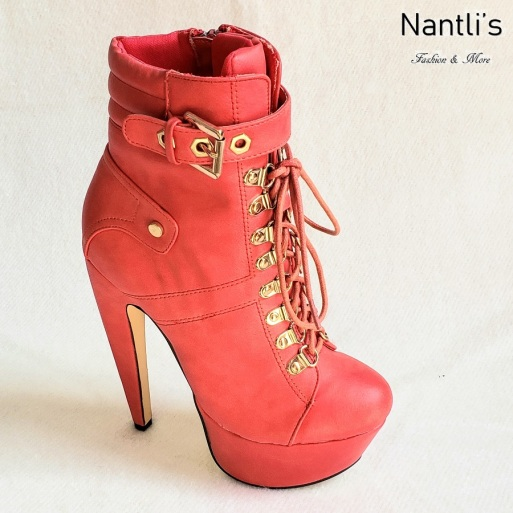 Zapatos de Mujer MC-Venisha Red Women Shoes Nantlis Mayoreo Wholesale