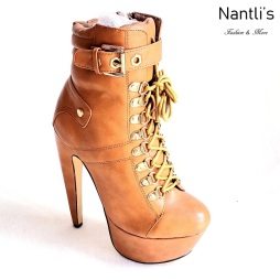 Zapatos de Mujer MC-Venisha Tan Women Shoes Nantlis Mayoreo Wholesale