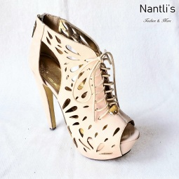 Zapatos de Mujer MC-Vitola Nude Women Shoes Nantlis Mayoreo Wholesale