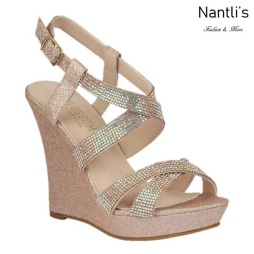 BL-Alle-12 Blush Zapatos de Mujer Mayoreo Wholesale Women Wedges Shoes Nantlis