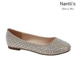 BL-Baba-1 Nude Zapatos de Mujer Mayoreo Wholesale Women Flats Shoes Nantlis