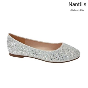 BL-Baba-1 White Zapatos de Mujer Mayoreo Wholesale Women Flats Shoes Nantlis