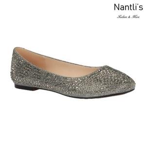 BL-Baba-87 Pewter Zapatos de Mujer Mayoreo Wholesale Women flats Shoes Nantlis
