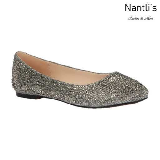 BL-Baba-87 Pewter Zapatos de Mujer Mayoreo Wholesale Women flats Shoes Nantlis