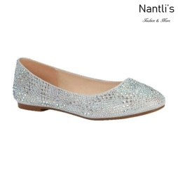 BL-Baba-87 Silver Zapatos de Mujer Mayoreo Wholesale Women flats Shoes Nantlis