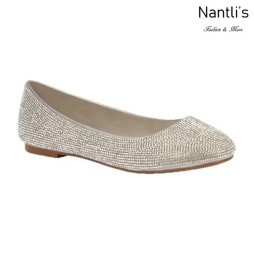 BL-Baba-88 Silver Zapatos de Mujer Mayoreo Wholesale Women flats Shoes Nantlis