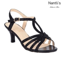 BL-Berk-206 Black Zapatos de Mujer Mayoreo Wholesale Women Heels Shoes Nantlis