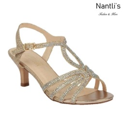 BL-Berk-206 Champagne Zapatos de Mujer Mayoreo Wholesale Women Heels Shoes Nantlis