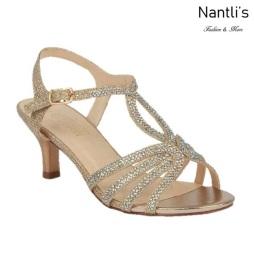 BL-Berk-206 Champagne Zapatos de Mujer Mayoreo Wholesale Women Heels Shoes Nantlis