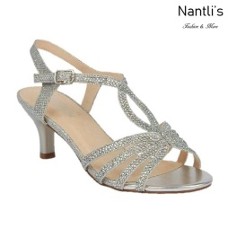BL-Berk-206 Silver Zapatos de Mujer Mayoreo Wholesale Women Heels Shoes Nantlis