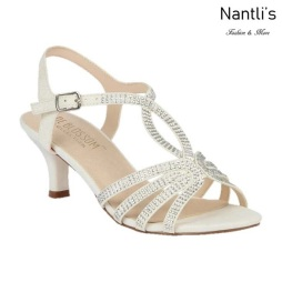 BL-Berk-206 White Zapatos de Mujer Mayoreo Wholesale Women Heels Shoes Nantlis