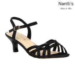BL-Berk-212 Black Zapatos de Mujer Mayoreo Wholesale Women Heels Shoes Nantlis