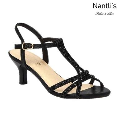 BL-Berk-213 Black Zapatos de Mujer Mayoreo Wholesale Women Heels Shoes Nantlis